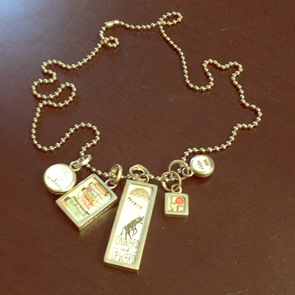 Jewelry - Vintage Look for this Long Dangle Charm Necklace